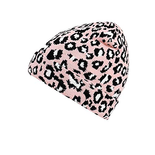 Adult Women Men Winter Leopard Crochet Hat Knit Hat Warm Cap ()