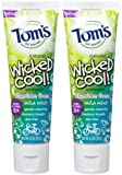 Tom's of Maine Fluoride Free Wicked Cool Paste - 4.2 oz - 2 pk