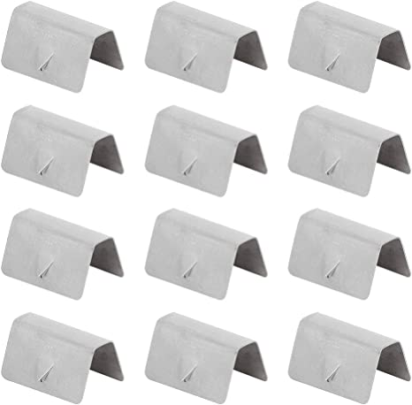 KKmoon Wind Deflector Rain Channel 12 Pieces Clip Fixing Replacements for Heko G3 6 pezzi