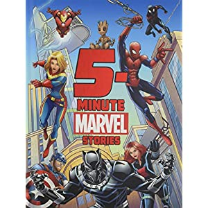 5-Minute-Marvel-Stories-5-Minute-Stories-Hardcover--1-May-2019