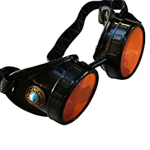 Steampunk Victorian Goggles welding Glasses diesel punk--limited GGG-blue