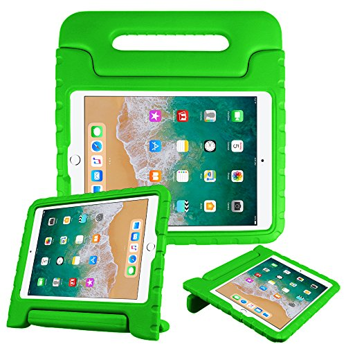 Fintie iPad Pro 10.5 Case - Kiddie Series Light Weight Shock Proof Convertible Handle Stand Bumper Cover [Kids Friendly] for Apple iPad Pro 10.5 Inch 2017 Release Tablet, Green