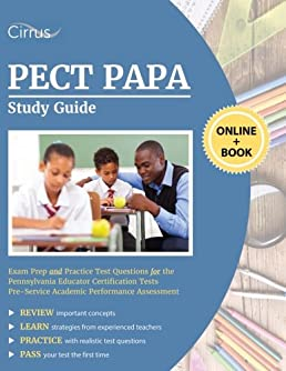 pect papa study guide exam prep and practice test questions for the rh amazon com Algebra Math Study Guides for Exams 5th Grade Math Study Guide