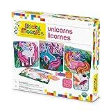 The Orb Factory Sticky Mosaics Unicorns Arts & Crafts, Pink/Teal/Blue/Purple, 12'' x 2'' x 10.75''