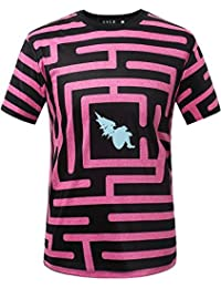 """<span class=""""a-offscreen"""">[Sponsored]</span>Men's Graphic Straight Fit Crew Neck Short Sleeve T Shirts"""