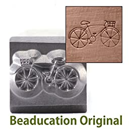 Metal Stamp Hipster Bicycle