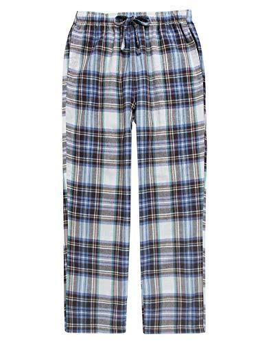TINFL Boys Plaid Check Soft 100% Cotton Lounge Pants BLP02-12-Multicolor L