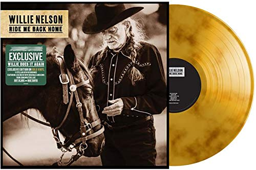 Ride Me Back Home ‎- Exclusive Limited Edition Gold Vinyl LP [Condition-VG+NM] (What Is Very Good Condition)