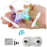 NiGHT LiONS TECH X66 Mini Drone 6.5 Inches 2.4G 6 Axis Gyro Headless 360 Degree Flips Roll RC Remote Control Quadcopter Indoor and Ourdoor Drone Camouflage