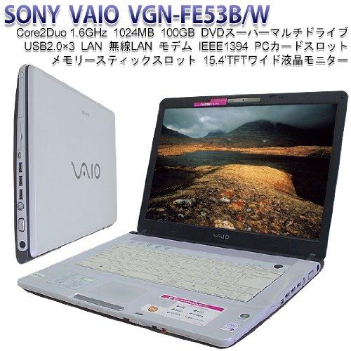 ソニー(VAIO) VAIO typeF FE53B ホワイト VGN-FE53B W