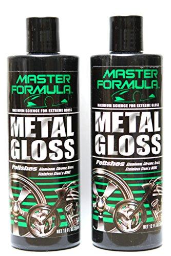 - Master Formula Metal Gloss - Auto Brass Chrome Polish Cleaner