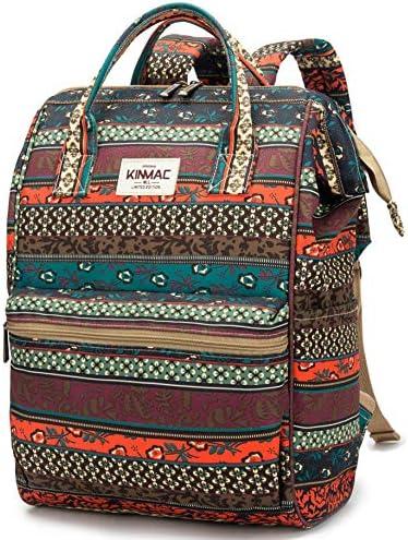 Kinmac Waterproof Backpack Charging Bohemian