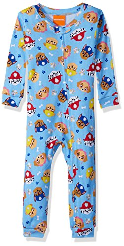 Nickelodeon Toddler Boys' Paw Patrol Cotton Non-Footed Pajama, Light Blue, 3T