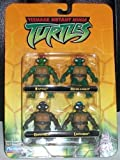 Teenage Mutant Ninja Turtles TMNT Miniatures(2.5 inches tall) in sealed package RARE VHTF dated 2002 by Mirage