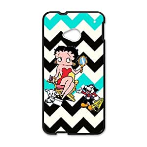 HTC One M7 Phone Cases Black Betty Boop LSFE5466616
