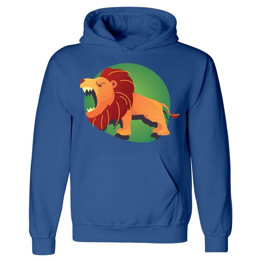 Cute /& Funny Lion Peyton Winks Wildlife Adventures Hoodie