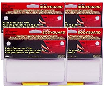 Trimbrite BodyGuard Clear Protection - 5-7/8 X 12' (4 Pack)