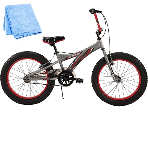 20 Inch Huffy Bicycle Steel Frame Kids Bike for Boys with Cleaner Cloth