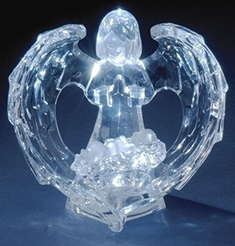 Icy Crystal Led Lighted Angel in Florida - 6