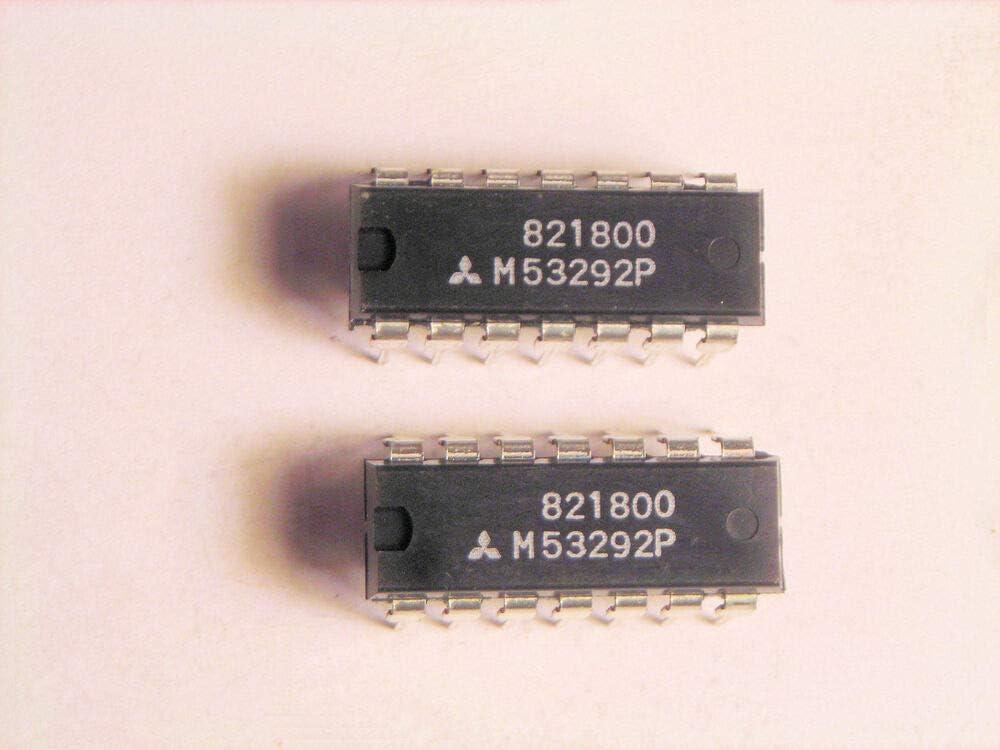 2 pcs Mitsubishi M53292P TTL 14P DIP IC