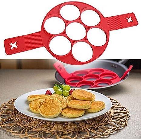 Pancake Maker Silicone Non Stick Fantastic Egg Pancake Maker Ring Kitchen