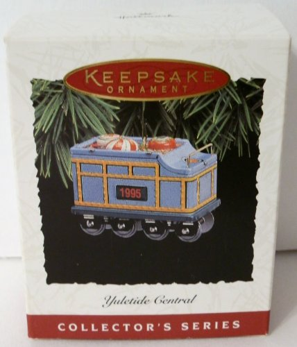 1995 Hallmark Ornament Yuletide Central # - Maine Mall Shopping