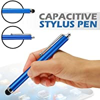 2010kharido AE Stylus Pen for iPhone 3G 3GS 4 4S 5 iPad 2 3 4 Samsung HTC Touch Tablet (Dark Blue)
