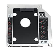 """Proster 2.5"""" SATA Hard Drive Caddy Tray SSD HDD Hard Disk Internal for Apple MacBook Pro Unibody 13 15 17 SuperDrive DVD Drive"""