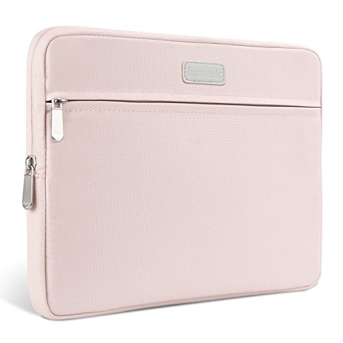 Inateck 13-13.3 Sleeve Compatible MacBook Air/Pro Retina Sleeve Carrying Case Cover Protective Bag, Water Repellent - Pink
