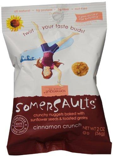 Somersaults Crunch Nuggets, Cinnamon Crunch, 8 (02 Nugget)