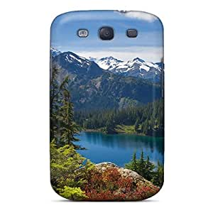 (DxBpcWz8794Xjhvd)durable Protection Case Cover For Galaxy S3(iceberg Lake Mount Baker Wilderness Washington)