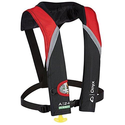 utomatic Inflatable Life Jacket - Red (Automatic Sight)