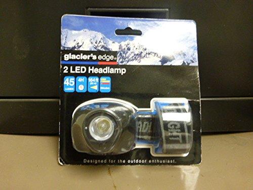 Glaciers Edge 2 Led Headlamp (Black)