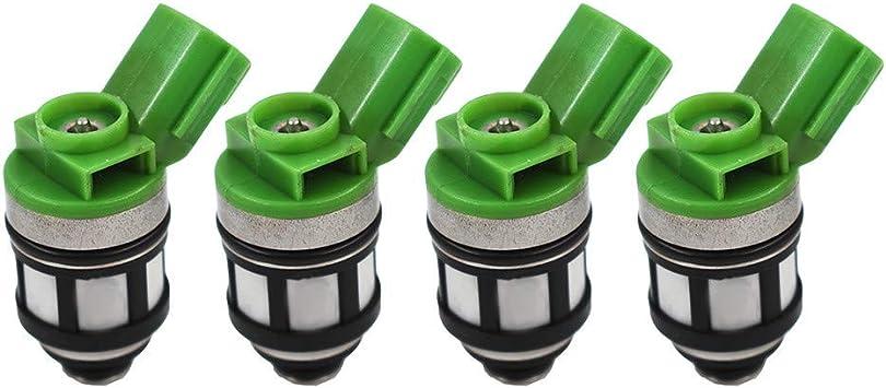 WFLNHB 4pcs Fuel Injectors Fit for 1996-2004 Nissan Pickup Frontier Xterra 2.4L 16600-1S700 842-18125 JS4D-2