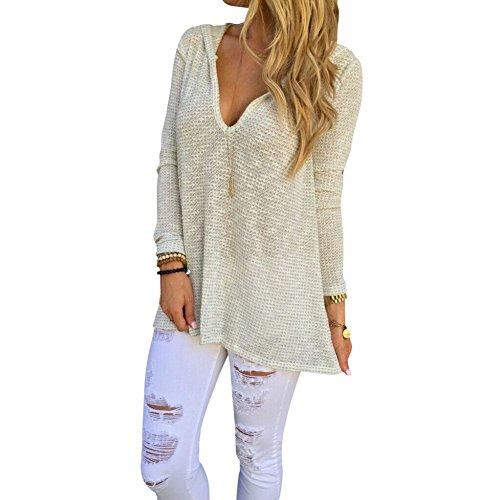 EXIU - Camiseta de manga larga - para mujer