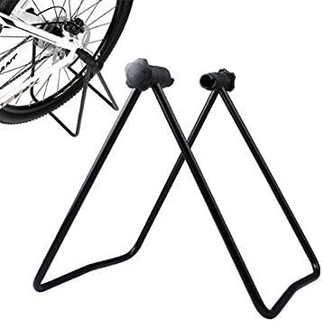 Gearmax® Bike plegable Caballete para bicicletas U Soporte: Amazon ...