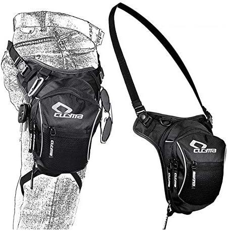 balikha Motorcycle Bike Rider Leg Bag Thigh Bag with Big Window Touch Screen Phone Pouch
