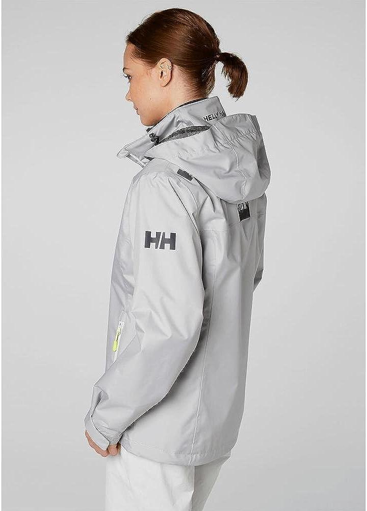 Helly-Hansen Crew Hooded Waterproof Windproof Breathable Rain Coat Jacket