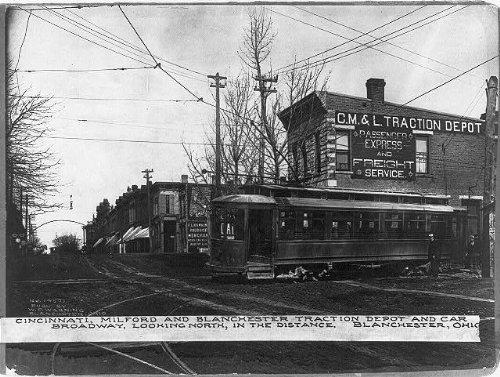 Photo: Cincinnati,Milford,Blanchester Traction Depot,Broadway