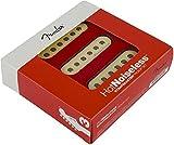 #10: Fender Strat Hot Noiseless Pickups, Aged White, Set Of 3 Electric Guitar Part
