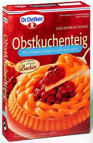 (Dr. Oetker Obstkuchenteig (Fruit Tart Bottom Mix) 260g by Dr. Oetker)
