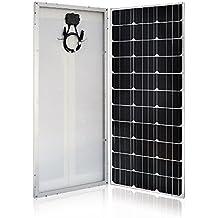 HQST 100 Watt 12 Volt Monocrystalline Solar Panel (Slim Design)
