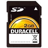 Duracell 2 GB SD Flash Memory Card DU-SD-2048-C