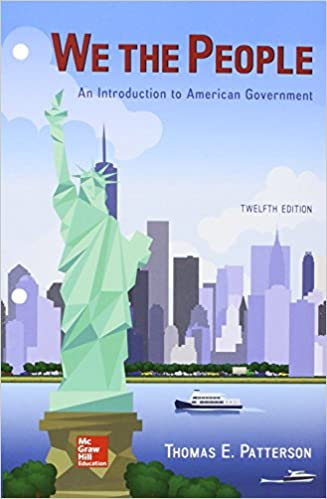 Looseleaf for we the people with connect access card thomas e looseleaf for we the people with connect access card 12th edition by thomas e patterson fandeluxe Choice Image