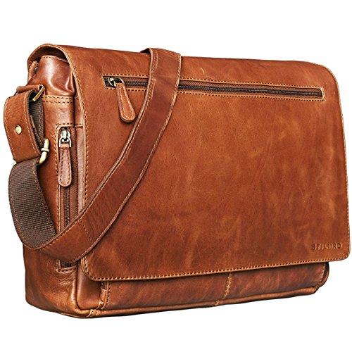 STILORD 'Jan' Vintage Messenger Bag for Men and Women Satchel University...