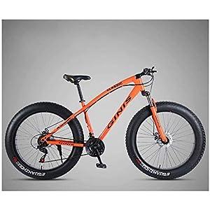 517VV%2B3nO8L. SS300 Outdoor Mountain Bike, MTB, MTB Biciclette, Fat Tire, sospensione anteriore, doppio freno a disco, da 26 pollici…