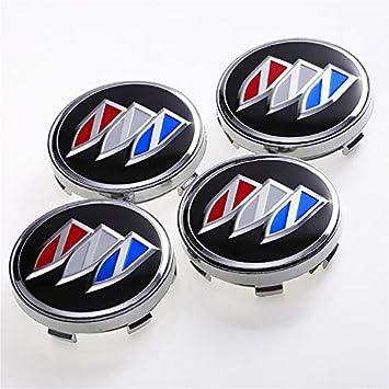 4pcs//Set Car Rim Emblem Wheel Center Cap Logo Badge Cover Car Hub for Buick 60mm