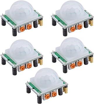 Neuftech-3x HC-SR501 PIR Infrarouge pyro-électrique Motion Sensor détecteur...