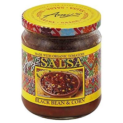 Amy's Organic Black Bean & Corn Salsa 14.7 oz(Pack of 2)