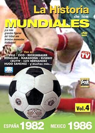 Historia De Los Mundiales De Futbol 4: Espana 1982 Reino Unido DVD: Amazon.es: La Historia de Los Mundiales d: Cine y Series TV